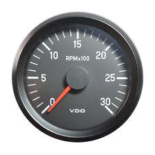 "Vdo cockpit international tachymètre gauge 3000 rpm 80mm 3.1"" 12V 333-035-001C"