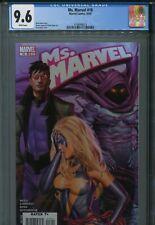 Ms. Marvel 18 CGC 9.6 Greg Horn Sleepwalker Iron Man New Avengers New Holder