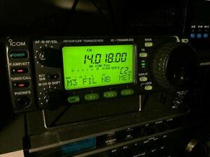 ICOM IC-706MkIIG HF-VHF-UHF Transceiver ricetrasmettitore multibanda