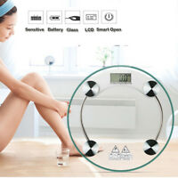 400lb Portable Electronic Digital Bathroom Precision Weight Body Scale 180kg Kd