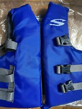 New listing Stearns Boys or Girls Blue & Green Stearns Youth Life Jacket, Size 50-90 Pounds