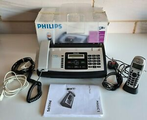 Philips PPF 685 Fax Machine Telephone SMS & Handset Boxed Tested