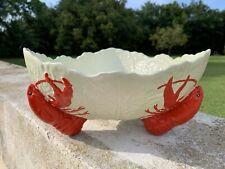 vintage Carlton ware cabbage leaf lobster bowl