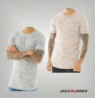 Mens Jack And Jones Short Sleeve Shaped Top Jersey T Shirt Sizes from S to XXL