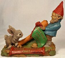 Cairn Christmas 2002-R 2001~Clark/Wolfe Gnome~#6390~Ed #73~w/Coa & Hand Signed