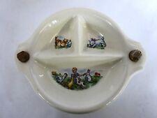 Vintage Ceramic Child's Warming Dish