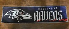 Baltimore Ravens Banner Signed by 2019 Cheerleaders Nfl 3Ft