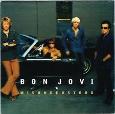 BON JOVI ~ Misunderstood (cd single, with Limited Edition Poster Booklet, 2002)