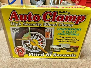 Bulldog Auto Clamp fits wheels (H)480-640mm x (W)145-205mm