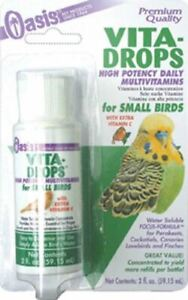 Vita Drops High potency Vitamins for Caged Birds with Extra Vitamin C