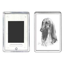 MIKE SIBLEY - Pet Portrait Artist - Afghan Hound - Fridge magnet - gift