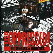 The Oppressed - Oi Singles & Rarities [New CD]