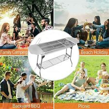 Outdoor Camping Compact Barbecue Bbq Grill Charcoal Stove Tortilla Pres Cookware