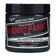 Manic Panic Vegan Semi Permanent Hair Color Dye Cream 118 mL Green Envy