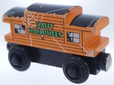 """Haunted Caboose"" Thomas Train Halloween Wooden Railway Track Brio Magnetic Set"