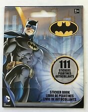 111 DC Comics Batman Superhero  Stickers Party Favors Teacher Supply