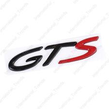 GTS Body Emblem Badge Fender Sticker for Porsche 911 Cayenne Cayman Boxster