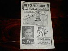 Newcastle United v Preston North End 1952/3 ~ septiembre 13th Inc. Tom Finney