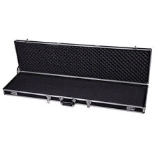 "53"" Long Aluminum Locking Rifle Gun Case Lock Shotgun Storage Box Carry Case"