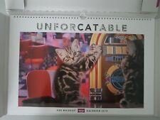 """Whiskas® Katzen Kalender 2019 """"Unforcatable"""""""