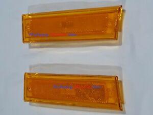 front side marker lens  pr 81-87 Chevy GMC Pickup Blazer Jimmy C10 C1500