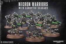 Necron Warriors with Canoptek Scarabs Warhammer 40K New!