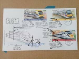 2018 Electric Train System (ETS) KTM with Padang Besar chop, ETS Capt Signed.