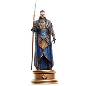 EAGLEMOSS Lord Of The Rings Chess Collection 90 GIL-GALAD W/Bishop No Magazine