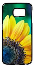 Sunflowers Yellow Green Flower Case Samsung Galaxy&Note Rubber TPU/Hard Cover