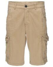 "Esprit Mens Cargo Combat Chinos Long Pants Camo Work Bottom Bermuda Shorts 31""W"