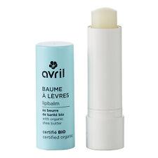 Baume à Lèvres Karité 100% Naturel Certifié Bio Cosmétique Écologique AVRIL
