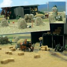 HO Scale Scenery - Hay and Straw Bales