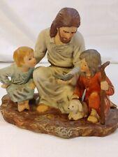 New Listing1983 Jesus Fish The Fisherman Ceramic Figure Vintage Homco Masterpiece Porcelain