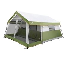 8 Person  Family Cabin Tent With Screen Porch.