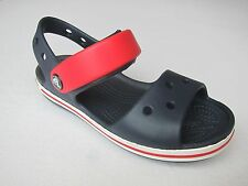 Crocs sandalen kids blau marine rot  C 8 Gr. 25 crocband sandals blue red sandal