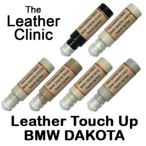 BMW DAKOTA Leather Touch Up Scratch Repair Pen. All Colours & Custom Paint Dye.