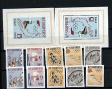 Albanien  I Olympiade 1964 Tokio A+ B  postfrisch