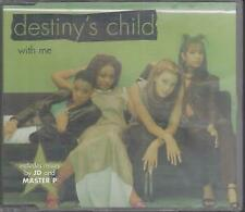 DESTINY'S CHILD With Me CD UK Issue Made In Austria Columbia 1997 4 Track Part 1
