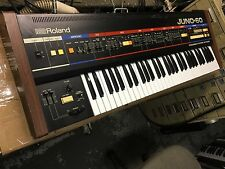 Roland Juno60 Juno 60 Vintage Analog Synth Keyboard 61 key //ARMENS