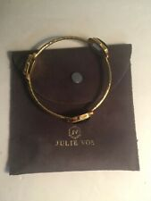 Julie Vos Gold And Stone Bangle