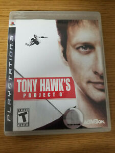 Tony Hawk's Project 8 COMPLETE PS3 (Sony PlayStation 3, 2006)