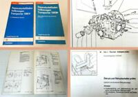 Reparaturleitfaden VW Bus T3 Werkstatthandbuch 2,1 l Einspritzmotor DJ MV SR SS