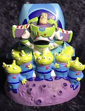 Disney Pixar Toy Story Buzz LightYear Zurg Green Aliens Piggy Bank