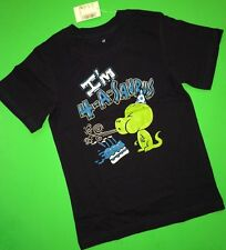 4th Birthday 4 Years Baby Boys Graphic Shirt 4t Gift Dinosaur Blue Party SS