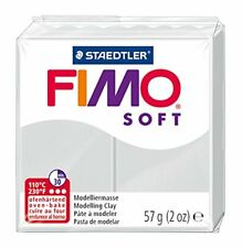 Staedtler Fimo Soft 8020-80 Oven Hardening Modelling Clay 56g - Dolphin Grey