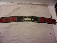 Cub Cadet Dash Label Instrument Panel Strip Cyclop 1641 1862 1864 1882 2082 2084