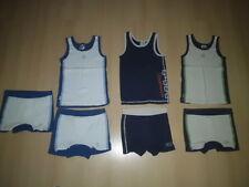 3x Tank-Top / T-Shirt / Hemd + 4x Hose@ Gr. 122/128 @ MEXX @ blau