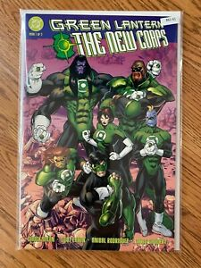 Green Lantern The New Corps 1 of 2 - High Grade Comic Book -B61-61