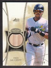 2014 Topps Tier One Relics #TOR-FM Fred McGriff /254 Bat Tampa Bay Rays