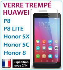 Verre Trempé Vitre protection d'écran HUAWEI P8 / P8 LITE / HONOR 5X / 5C / 8